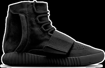 Фото Adidas Yeezy Boost 750 by Kanye West Черные - 1