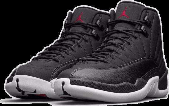 Мужские кроссовки. Nike Air Jordan 12 Retro Waterproof Nylon Черные с  белым. 7498 ₽ da3dd2950c5