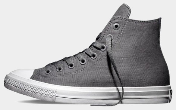 Фото Converse Chuck Taylor All Star II High серые - 3